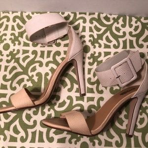 Charlotte Russe Ankle Cuff Heels